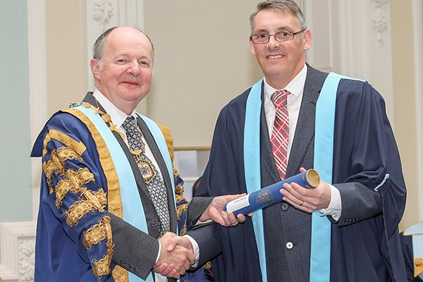 Faculty Welcomes its First Member at RCSEd Diploma Ceremony